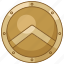 aspis, greek, hoplite, hoplon, shield, spartan icon