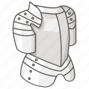 armor, armour, body, chest, cuirass, heavy, plate icon