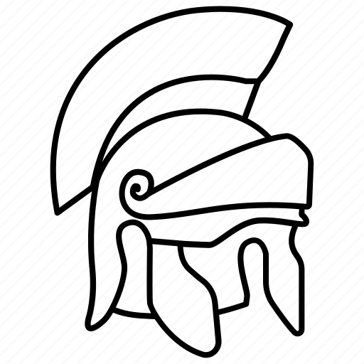 centurion, galea, helm, helmet, legion, legionary, roman icon
