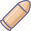 arm, armament, arms, bullet, firearm, weapon, weaponry icon