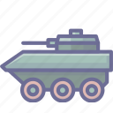 arm, armament, armored, arms, firearm, vehicle, weapon, weaponry icon