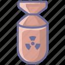 arm, armament, arms, firearm, nuke, weapon, weaponry icon