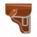 army, holster, military, pistol holster, war, weapon icon