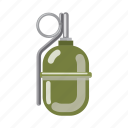 army, bomb, hand grenade, military, war, weapon