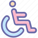army, disable, disabled, handicap, man, person, wheel chair, wheel-chair icon