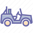 army, army jeep, car, equipment, jeep, military, transport, vehicle icon