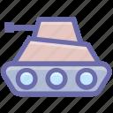 army, army tank, gun, machine, military, tank, vehicle, war, weapon icon