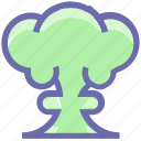 army, atomic, blast, bomb, bomb blast, explosion, explosive, military, nuclear, terror, war icon