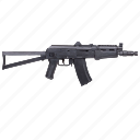 ak47, automic, gun, russian, terrorist, weapon icon