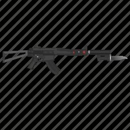 ak47, gun, knife, snipper, weapon icon