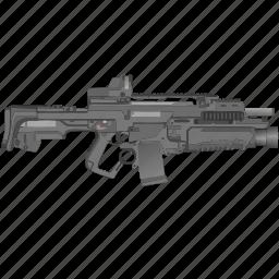 army, gun, mashine, terrorist, weapon icon