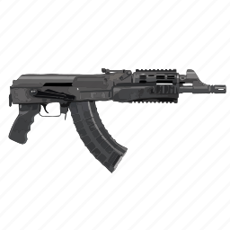 ak47, auto, gun, weapon icon