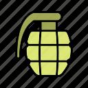 army, bomb, grenade, war icon