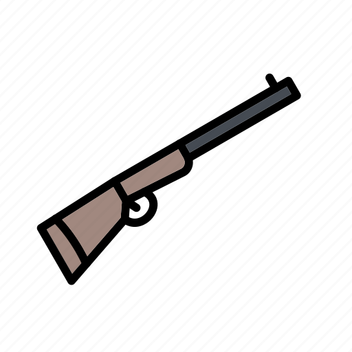 rifle, shot gun, weapon icon