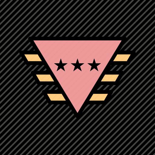 army, award, badge, medal, prize icon