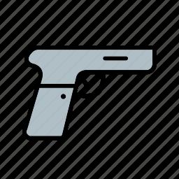 gun, pistol, weapon icon