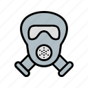 carnival, gas mask, mask, scuba icon