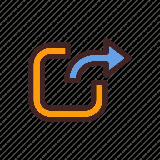 arrow, cloud, data, up, upload icon