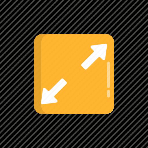 enlarge, full, fullscreen, maximize, resize icon