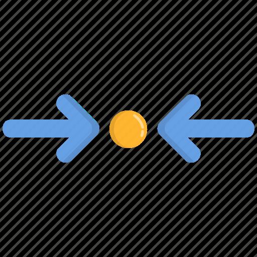 adjustment, minimize, resize, size icon
