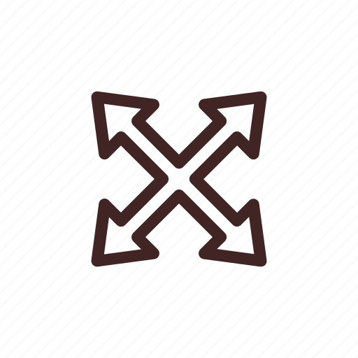 enlarge, expand, full screen, maximize, zoom icon