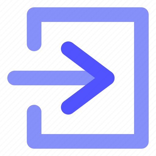 Arrow, direction, login icon - Download on Iconfinder