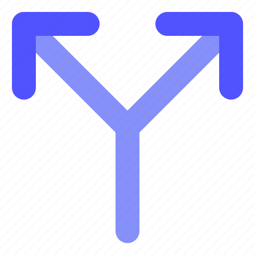 Arrow, direction, sidetrack icon - Download on Iconfinder