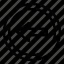 arrow, arrows, back, direction, left
