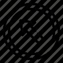 arrow, arrows, direction, left, top
