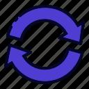arrow, circle arrows, refresh, reload