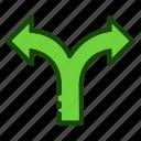 arrow, arrows, decision, direction, move