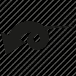 arrow, cursor, curve icon