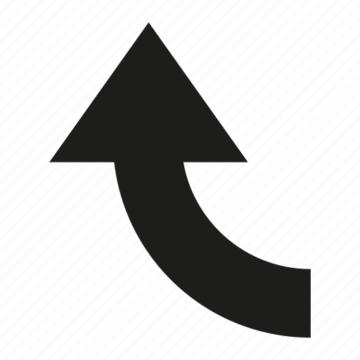 arrow, cursor, direction, up icon