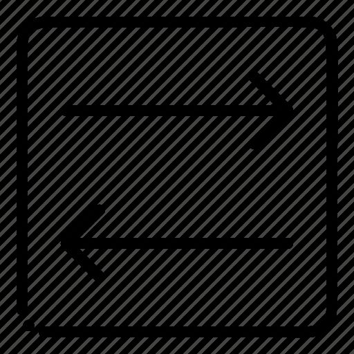 Arrow, transfer, arrows icon - Download on Iconfinder