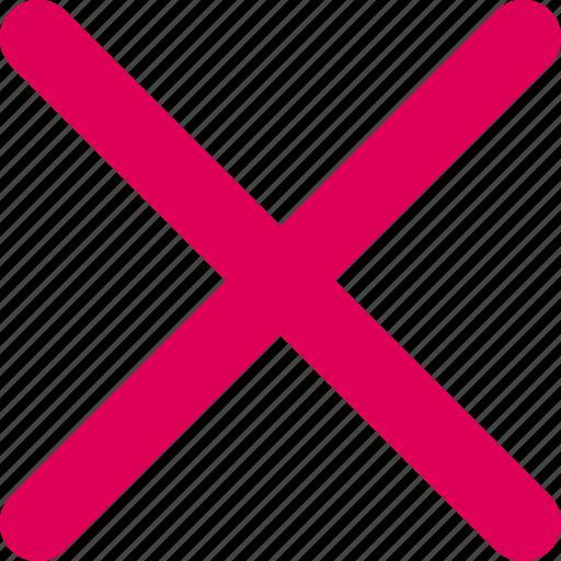 arrow, block, cancel, wrong icon