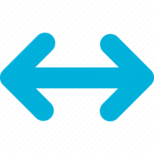arrow, extend icon