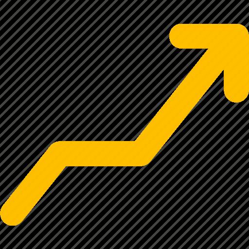 arrow, trend icon