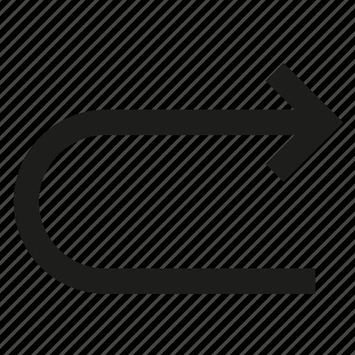 arrow, direction, point, pointe icon