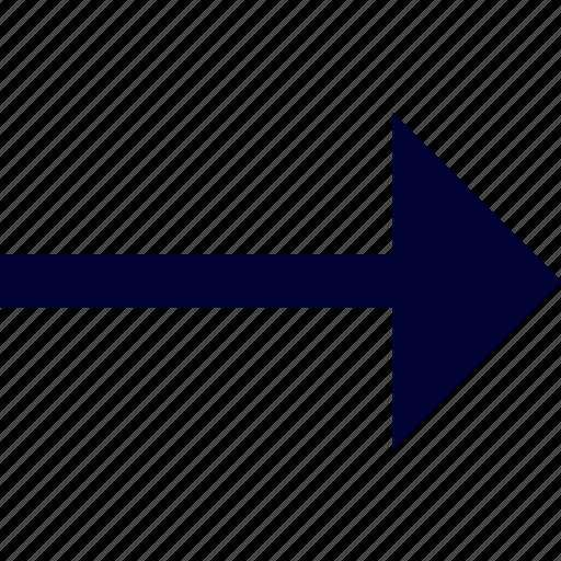 arrow, right, user interface icon