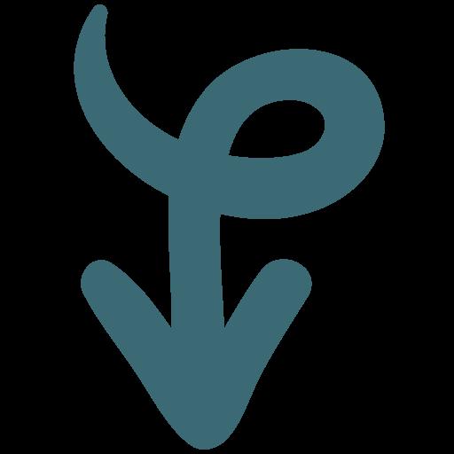 arrow, arrow wraps bottom, bottom, line, nope, sold, wraps icon
