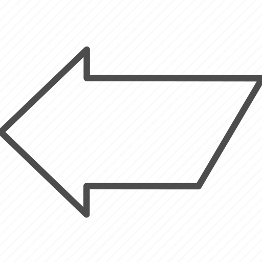arrow, left, location, navigation icon