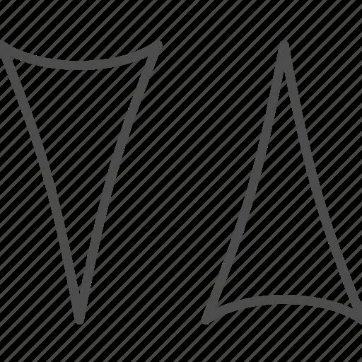 arrow, down, pointer, top icon