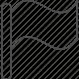 flag, location, marker, navigation icon