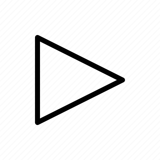 arrow, direction, east, right icon