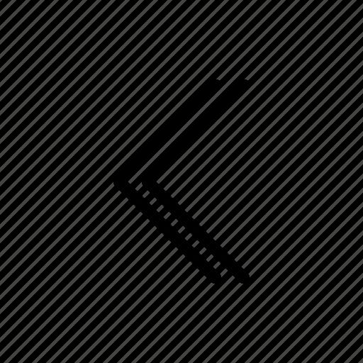 arrow, direction, left, west icon