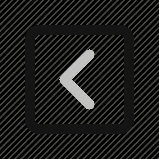 arrow, direction, left, navigation icon