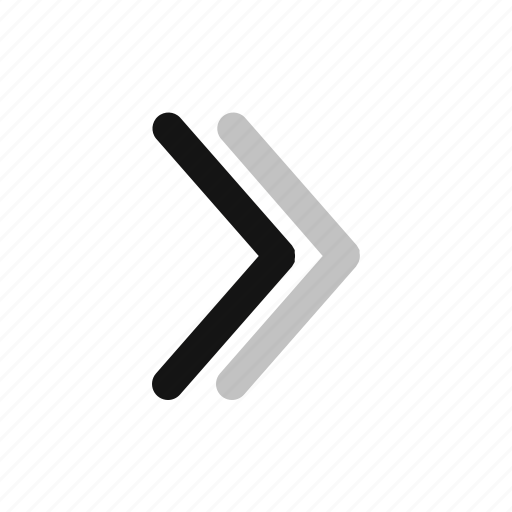arrow, direction, down, right icon