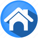 building, estate, home, map, menu, navigation, start icon