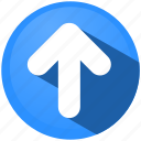 arrow, direction, menu, move, navigation, tip, top icon