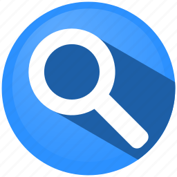 distance, glass, magnifier, map, menu, view, zoom icon